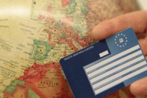 tarjeta sanitaria europea para niños